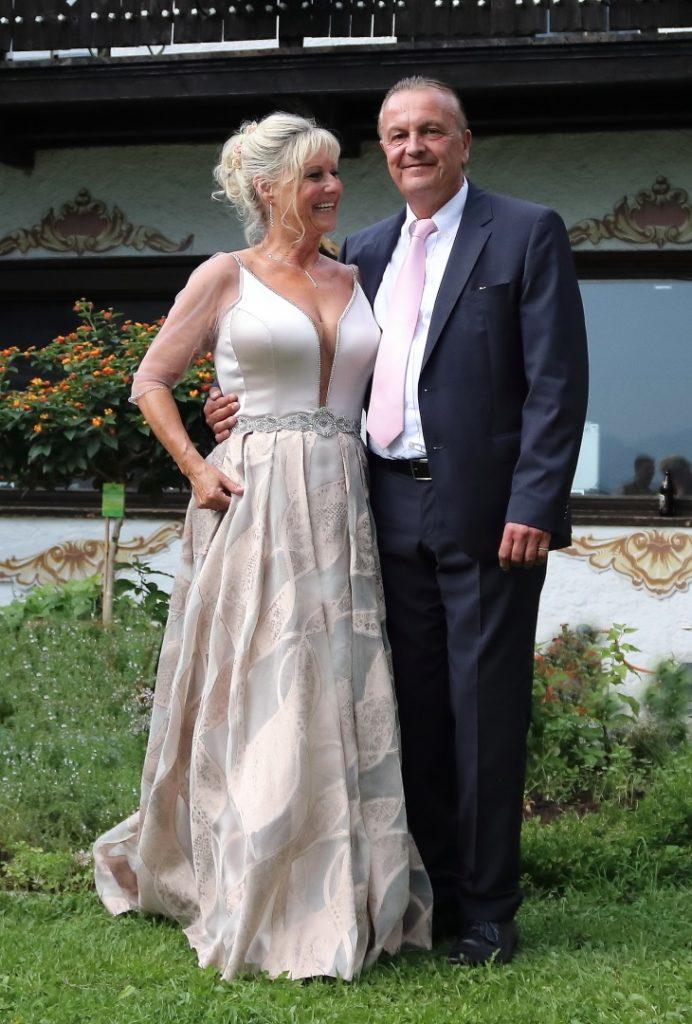 Hochzeitsfoto Stephan und Simone Schliersbergalm